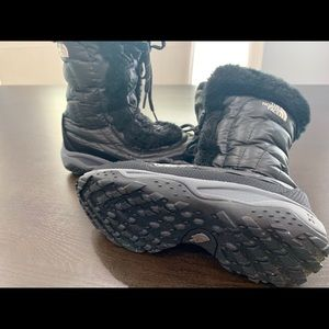 The North Face Shoes - North Face Youth Girl's Faux Fur Boots Winter Snow